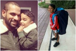 Year Old Zoravar Ready For Playing Cricket Shikhar Dhawan Made A Big Announcement