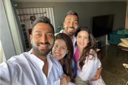 Hardik Pandya Celebrates Holi With Natasha Stankovic And Krunal Pandya See Pictures