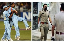 Icc Tweets Joginder Sharma Photo Showing 2007 T20 World Cup Hero Now Become 2020 Real World Hero