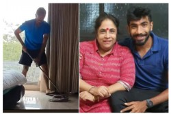Here Is How Jasprit Bumrah Keeping Her Mother Happy In Lock Down Watch