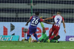 Bengaluru Fc Beat Atk By 1 0 In The First Leg Of The Isl Semifinal