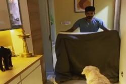 Shreyas Iyer Is Trying Magic Tricks Now Cheats Doggy Video Viral On Social Media