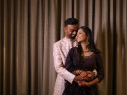 Jaydev Unadkat Engages With Girlfriend Rinny Posts Beautiful Picture Cheteshwer Pujara Message