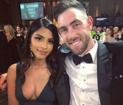 Glenn Maxwell Engages Girlfriend Vini Raman Beautiful Pics Of Indian Way Of Engagement