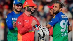 Psl 2020 Colin Munro Involved In Fiery Exchange With Imran Tahir Called Him Clown Over Celebration