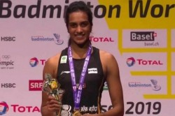 Covid 19 Pv Sindhu Dontes 10 Lakh Rs To Andhra Pradesh And Telangana Chief Minister Relief Funds