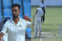 Ranji Trophy Final Saurashtra Vs Bengal Never Seen A Run Out Like This