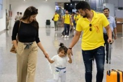 Suresh Raina Becomes Father Of Son Posts Adorable Photo Name Baby Son As Rio Raina