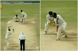 Shane Warne Shares 22 Year Old Test Match Clip Of Lbw Appeal Shane Warne Shares 22 Year Old Test