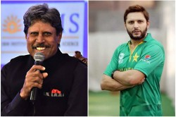 Shahid Afrdi Says On Shoaib Akhtar Ind Pak Series Proposal That He Expected Better From Kapil Dev