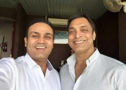 Shoaib Akhtar Slams Virender Sehwag Calls Him Liar As Claims Never Happened Baap Beta Incident