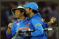 Sachin Tendulkar Reveals His Role In Promoting Ms Dhoni In Batting In 2011 World Cup Final