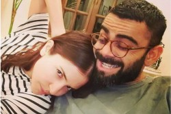 Virat Kohli Shares Beautiful Pictures With Anushka Wrote Our Smiles Maybe Fake But We Are Not