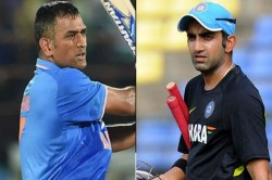 Gautam Gambhir Remembers Old Days Of Sharing Room With Ms Dhoni When They Slept At Floor Together