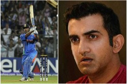 Gautam Gambhir Gives Harsh Reaction On Glorifying Ms Dhoni Six In 2011 World Cup Final