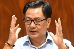 Sports Minister Kiren Rijiju Responds On Narendra Batra Accusations Says Need To Work Together