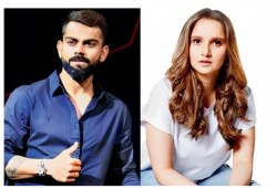 Virat Kohli Sania Mirza Took Part In An Online Concert To Raise Funds To Fight The Covid
