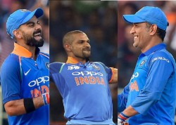 Shikhar Dhawan Picks His Best Batsman And Captain Between Virat Kohli Ms Dhoni