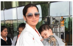 Sania Mirza In India Reveals How Her Son And His Father Are Separated In Lockdown
