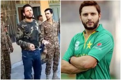 Pakistan Cricket Team Have No Sponsor Pcb Ready To Put Shahid Afridi Foundation Logo Against England