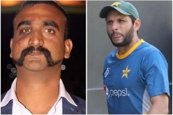 Shahid Afridi Said We Dropped Abhinandan From The Air And India Made Him A Hero