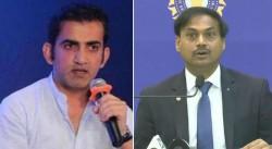 Gautam Gambhir Involves Again In War Of Words With Msk Prasd Over Selection Process In Team India