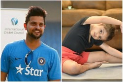 Suresh Raina S Daughter Is No Less Than A Celebrity Inspired By Baba Ramdev