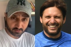 Harbhajan Singh Slams Shahid Afridi Over Controversial Comments On Pm Modi And Kashmir