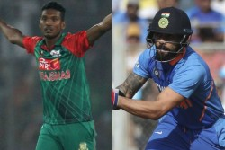 Bangladesh Pacer Al Amin Hossain Says Virat Kohli Sledges To Create Mental Pressure On Bowlers