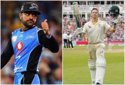 Sunrisers Hyderabad Shares Rashid Khan Clip Of Imitating Steve Smith Watch