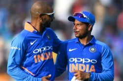 Kuldeep Yadav Shares Photo With Dhawan Says I Will Take Revenge For The Entire 4 Months