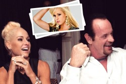 Wwe King The Undertaker Wife Is Very Beautiful Pays Full Attention To Fitness