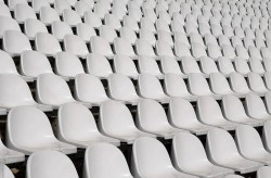 In England White Seats In Empty Stadium Become Problem For Ireland Ball Visibility Suffers