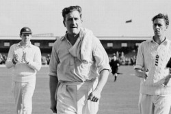 On This Day In Cricket History England Spinner Jim Laker Took 19 Wickets Made First 10 Wicket Haul
