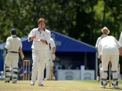 England Player Kaven James Who Took 4 Wickets In 4 Balls And Slams Century Against India In Fc Match