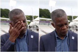 Eng Vs Wi Michael Holding Breaks Down In Front Of Camera While Speaking On Racism Watch
