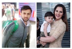England Vs Pakistan Shoaib Malik Departs For Odi Series Without Meeting Sania Mirza And Son In India