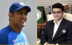 Sourav Ganguly Does Not Take Credit For Taking Ms Dhoni In Team Says It Was His Job