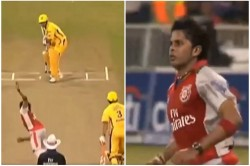 When Ms Dhoni Was Clean Bowled On Yorker Sreesanth Shared 11 Years Old Video