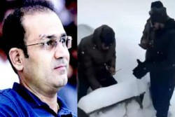 Virender Sehwag Shares Viral Video Of Army Soldier Celebrating Birthday With Snow Cake Posts Emotion
