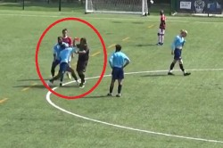 Referee Satyam Toki Is Punched In The Face For Showing Footballer Red Card
