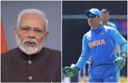 Pm Modi Wrote A Letter To Ms Dhoni Remembered Mahi S Hairstyle And Celebrations With Ziva