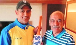 When Ms Dhoni Could Not Sleep For Hours After His Bat Sponsor Wife Could Not Recognize Him