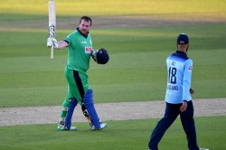 Eng Vs Ire 3rd Odi Paul Stirling Finishes 9 Year Old Drought Against England