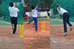 S Sreesanth Practiced To Return To Cricket Video Viral On Social Media
