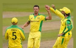 Eng Vs Aus 1st Odi Josh Hazlewood Bowling Helps Australia To Beat England By 19 Runs