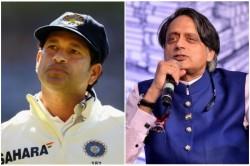 Shashi Tharoor Says Sachin Tendulkar Captaincy Was Lacked Of Inspirational Elements