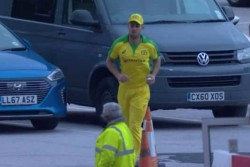 England Vs Australia Watch Viral Video Of Sam Billings Hitting Six Ball Went To Parking Area