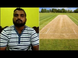 Manish Singh Becomes World S First Online Pitch Curator Helping To Prepare 3 Layer Pitch In Lucknow