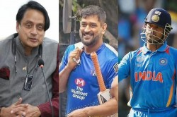 Shashi Tharoor Said A One Time I Was Extremely Upset With Ms Dhoni And Sachin Tendulkar